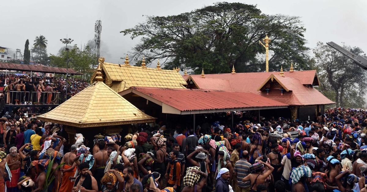 केरल : सबरीमला मंदिर में दर्शन के लिए तीन दिन में 560 महिलाओं ने रजिस्ट्रेशन कराया