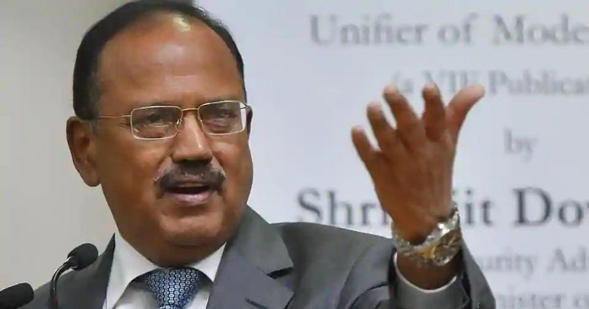 NSA Ajit Doval walks out of SCO meet after Pakistan's new map shows J&K, Junagadh in its territory