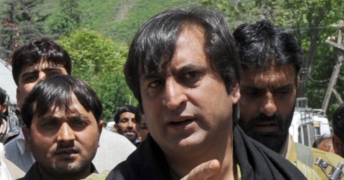 जम्मू-कश्मीर : भाजपा के सहयोगी रहे सज्जाद लोन हिरासत में लिए गए