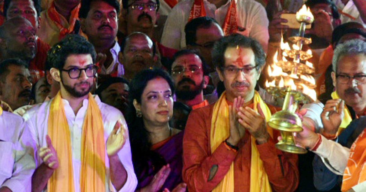 अयोध्या में राम मंदिर नहीं बना तो यह सरकार भी दोबारा नहीं बनेगी : उद्धव ठाकरे