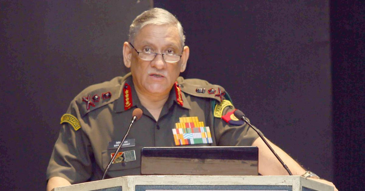 जनरल बिपिन रावत द्वारा लद्दाख में चीनी सैनिकों की घुसपैठ की बात नकारे जाने सहित आज के बड़े बयान