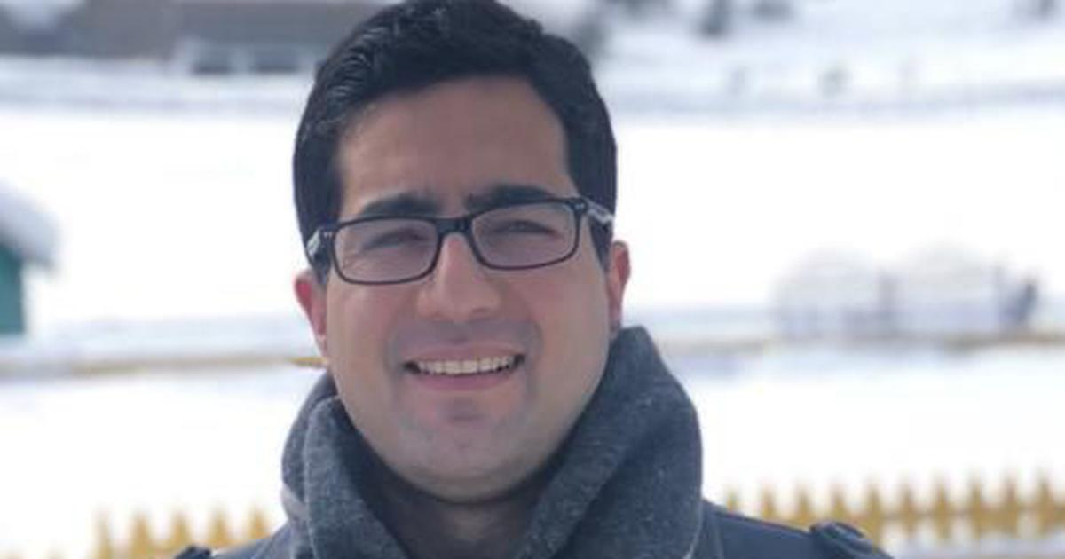 Kashmiris don't see their future with India, says former IAS officer Shah Faesal