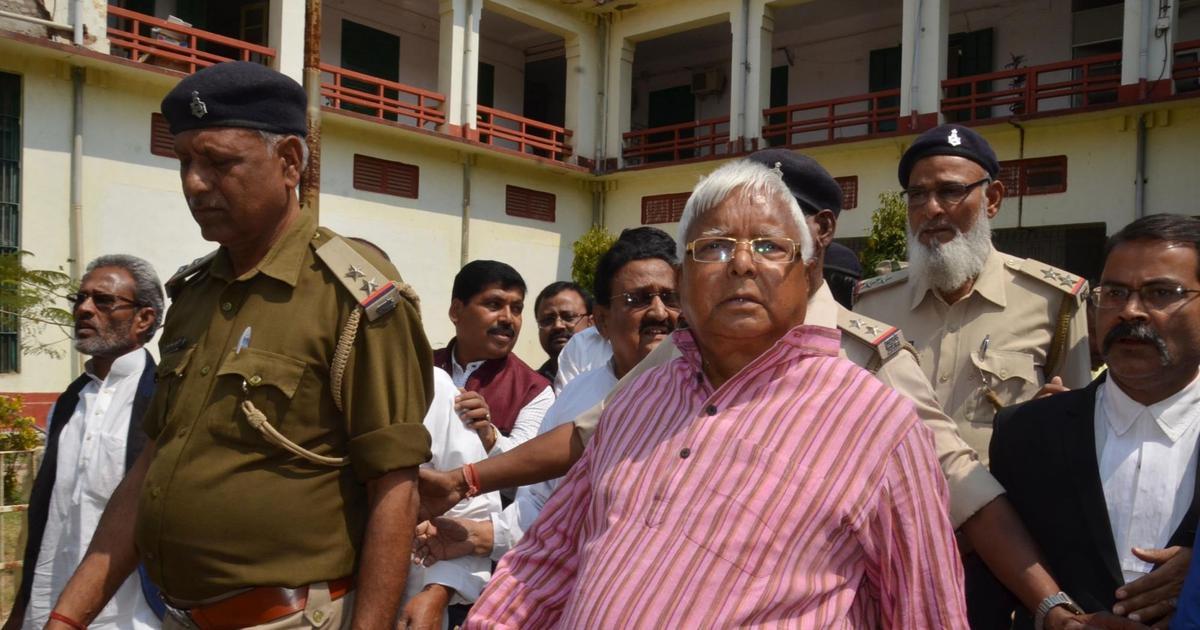 Lalu Yadav shifted to Delhi AIIMS as his health deteriorates