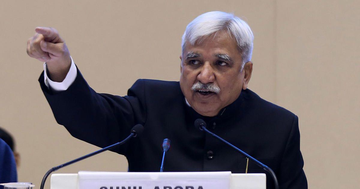 नरेंद्र मोदी और अमित शाह को तथ्यों के आधार पर क्लीन चिट दी गई : मुख्य चुनाव आयुक्त