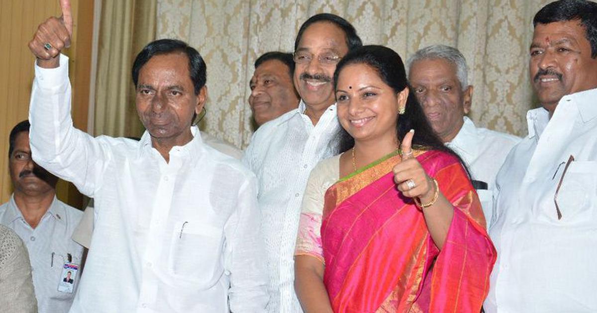 तेलंगाना : के चंद्रशेखर राव की बेटी के खिलाफ 1,000 किसान नामांकन भरने की 'योजना' बना रहे हैं