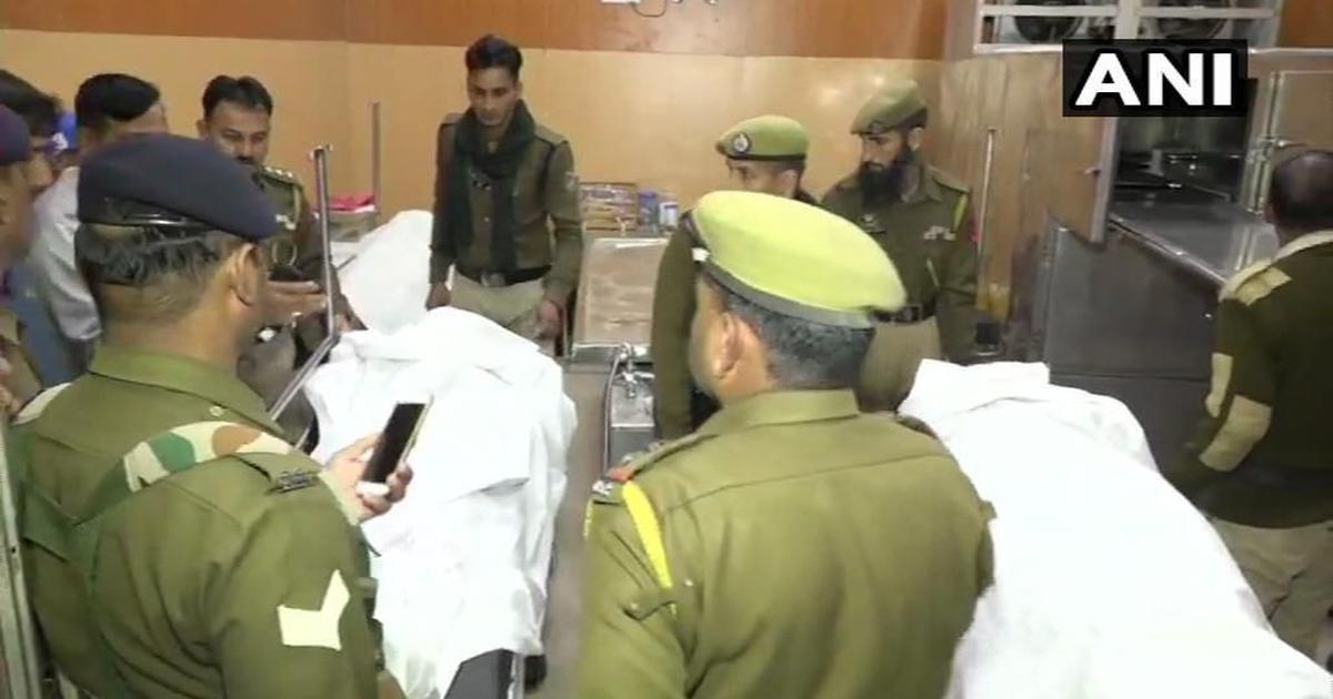 जम्मू-कश्मीर : सीआरपीएफ के जवान ने तीन साथी जवानों को गोली मारी, सभी की मौत