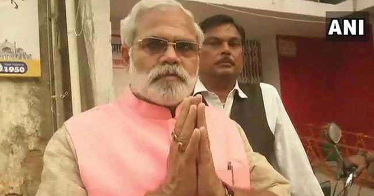 प्रधानमंत्री नरेंद्र मोदी के हमशक्ल उम्मीदवार को चुनाव आयोग का नोटिस