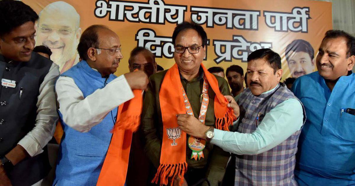 दिल्ली : आम आदमी पार्टी का एक विधायक भाजपा में शामिल