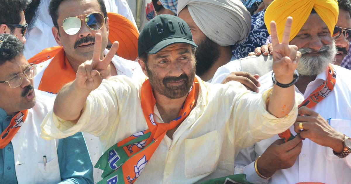 BJP MP Sunny Deol gets EC notice for allegedly exceeding Rs 70-lakh spending limit during elections