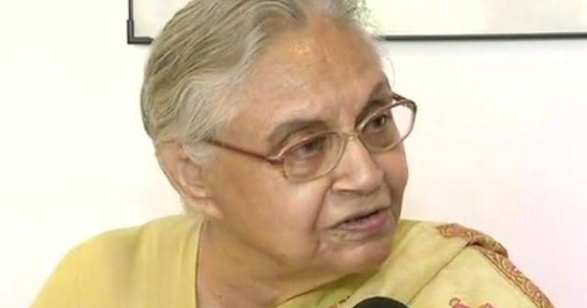 शीला दीक्षित का निधन, राष्ट्रपति और प्रधानमंत्री सहित तमाम नेताओं ने शोक जताया