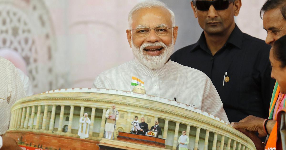 भारतीय जनता पार्टी अपने बलबूते 300 सीटों के आंकड़े तक पहुंची, संसदीय बोर्ड की बैठक कल