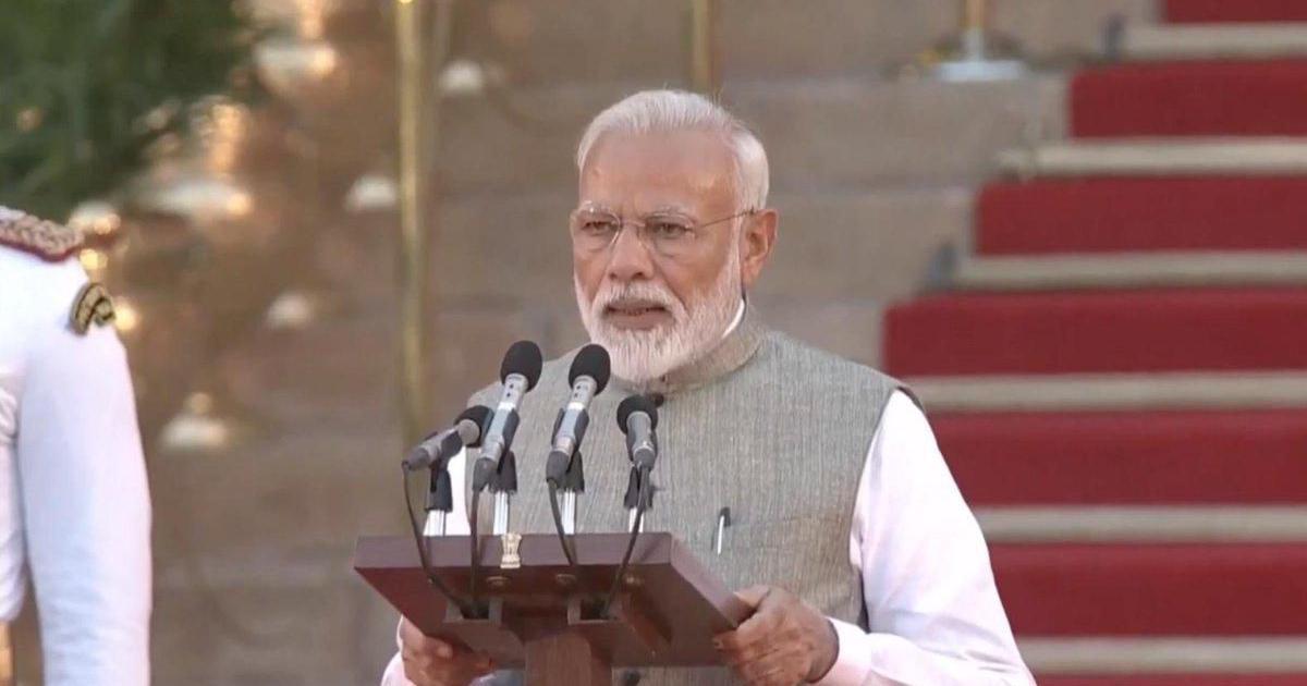 नरेंद्र मोदी के दूसरी बार प्रधानमंत्री पद की शपथ लेने सहित दिन के दस बड़े समाचार