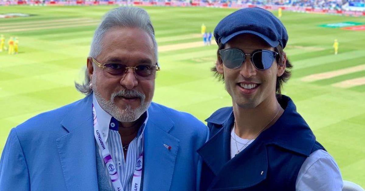 लंदन : भारत का मैच देखने पहुंचे विजय माल्या को लोगों ने कहा - चोर है