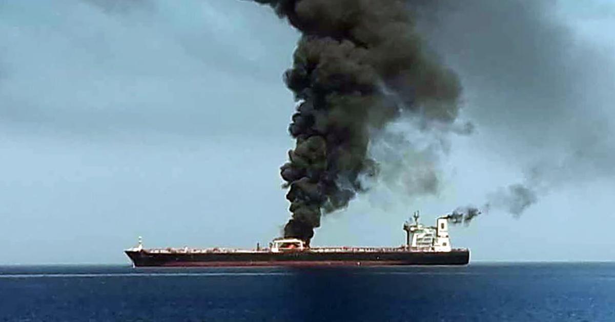 तेल टैंकरों पर हमले में इस्तेमाल विस्फोटक ईरान के विस्फोटकों जैसा है : अमेरिकी नौसेना