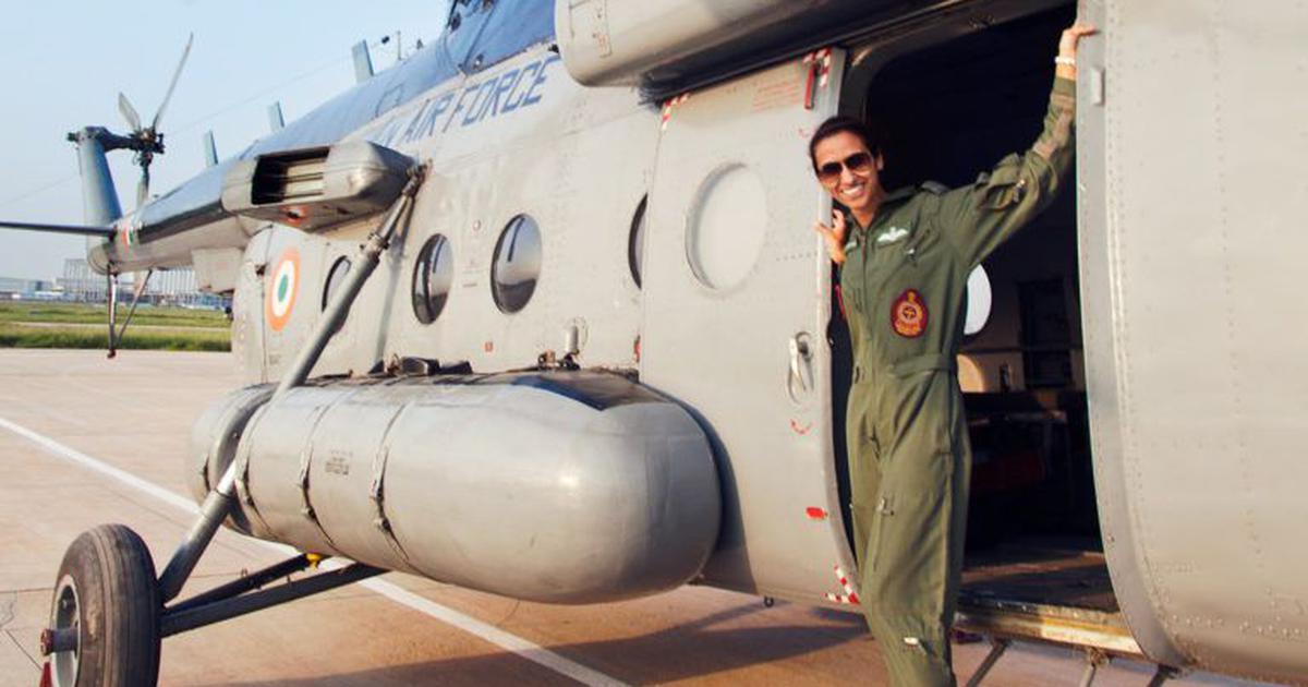 वायु सेना में पहली बार एक महिला को फ्लाइट कमांडर बनाया गया