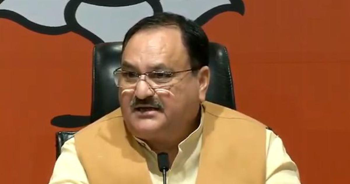 Bihar: NDA will fight polls together with Nitish Kumar as CM candidate, says BJP chief JP Nadda