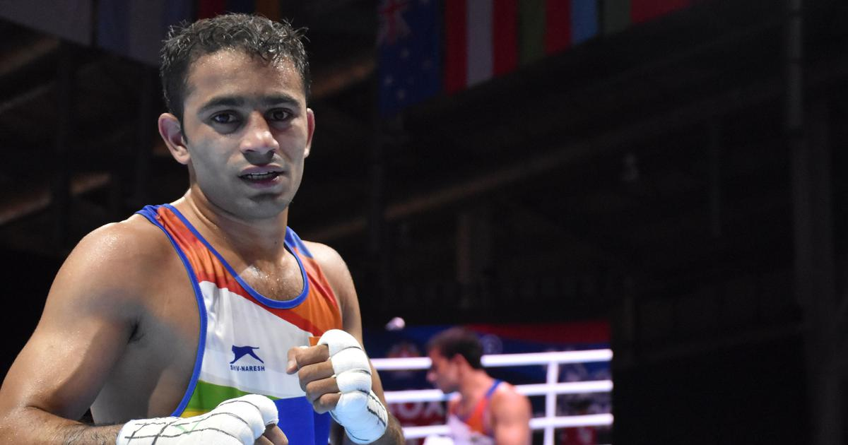 India's Amit Panghal ranked No 1 by IOC Boxing Task Force ahead of Olympic Qualifiers