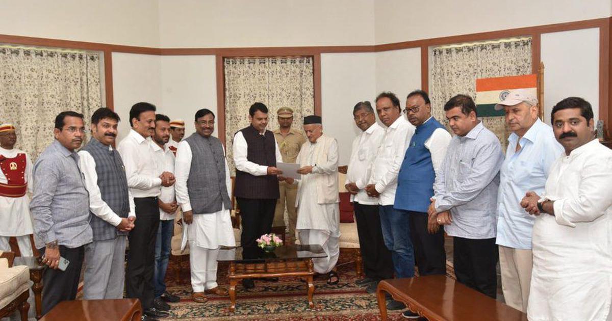 महाराष्ट्र में सरकार बनाने से भाजपा का इनकार, कहा - शिवसेना ने जनादेश का अपमान किया