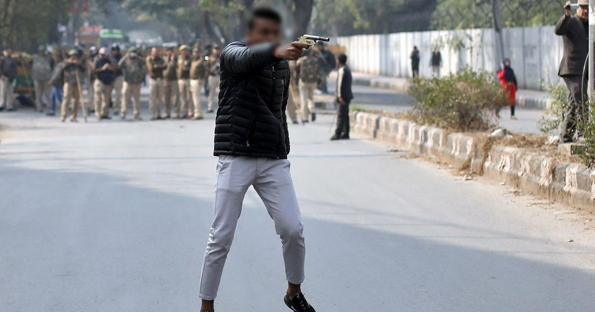 Delhi Police claim Jamia shooting happened in seconds, personnel did not have time to react