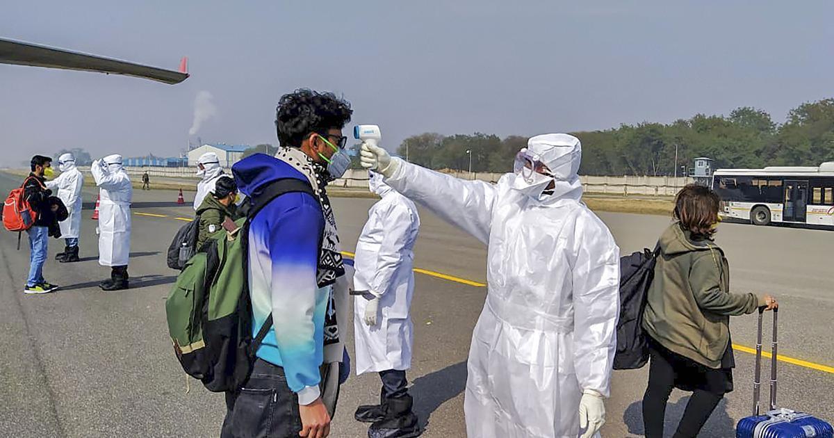 चीनी पैसेंजर ने एयर इंडिया के विमान में उलटी की, कोरोना के शक में पुणे के अस्पताल में भर्ती