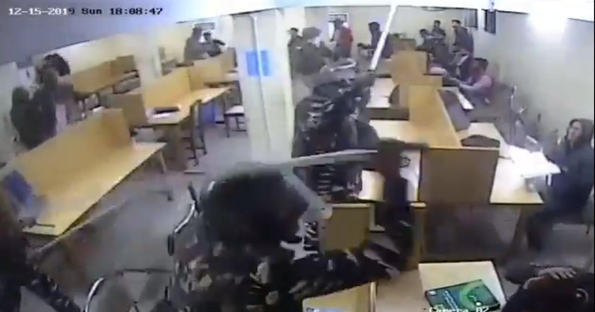 जामिया हिंसा : लाइब्रेरी में दिल्ली पुलिस की बर्बरता का वीडियो जारी