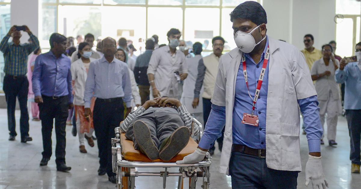 भारत में कोरोना वायरस के मामलों का आंकड़ा 5734 तक पहुंचा, कुल मौतें - 166