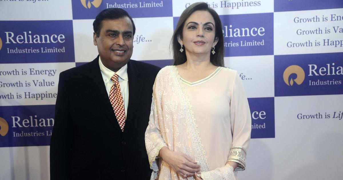 रिलायंस इंडस्ट्रीज 10 लाख करोड़ रु की मार्केट वैल्यू तक पहुंचने वाली पहली भारतीय कंपनी बनी