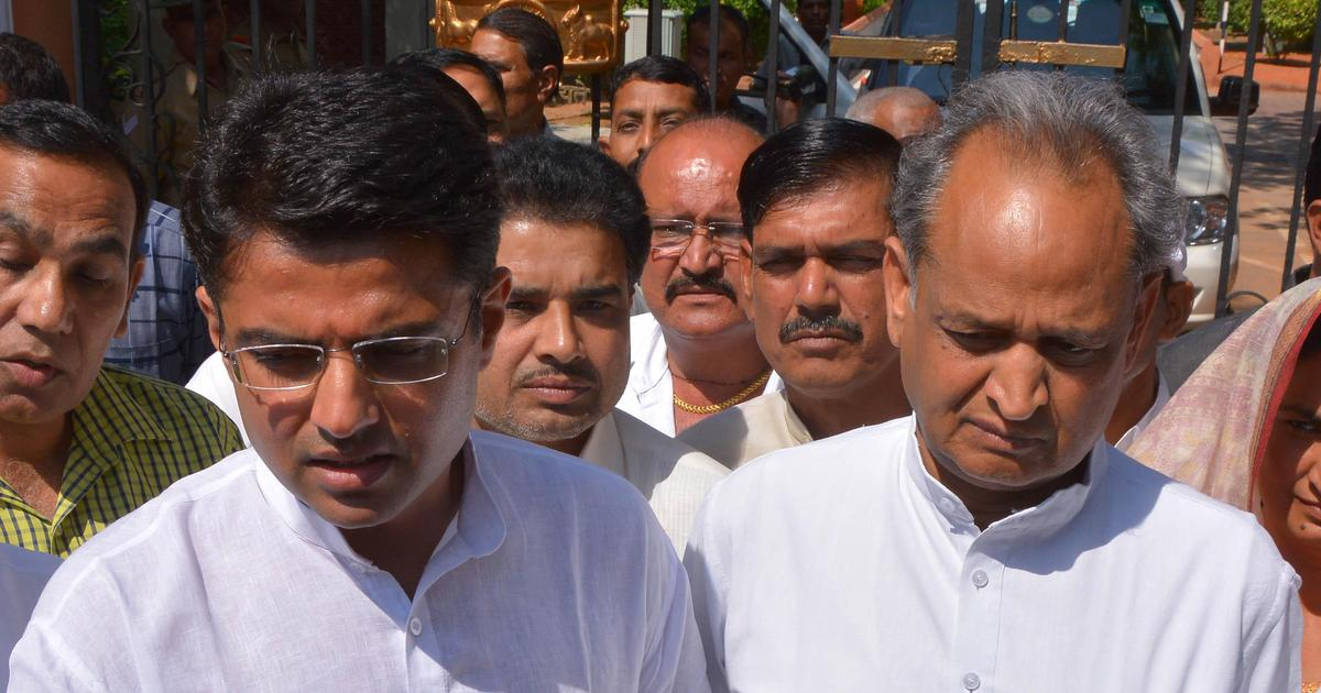 Rajasthan crisis: Ex-minister on Sachin Pilot's side hits back at Gehlot over horse-trading charges