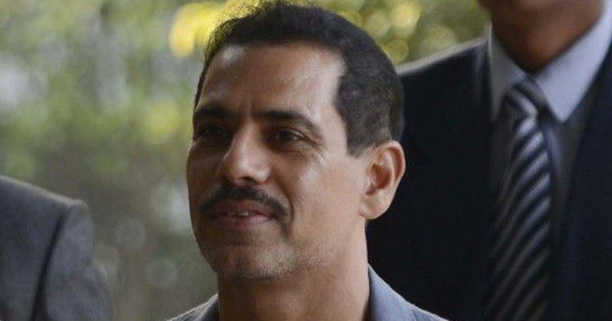 Robert Vadra gets relief from arrest in money laundering case till March 25