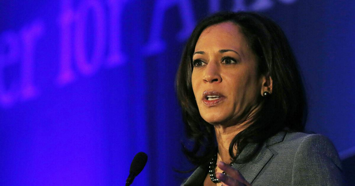 Kamala Harris holds media availability after announcing presidential bid