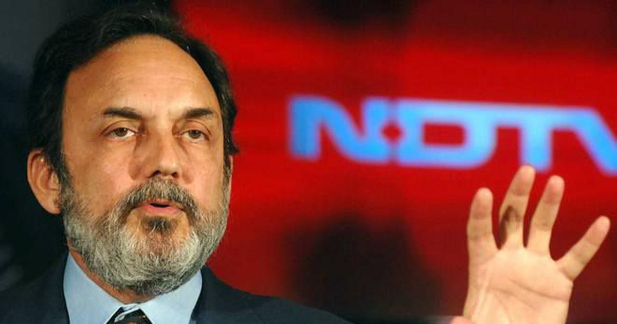 NDTV founders Prannoy Roy, Radhika Roy and others booked by