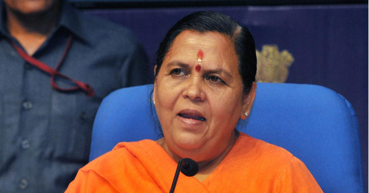 'It is for LK Advani to answer': Uma Bharti on BJP's decision not to field the veteran