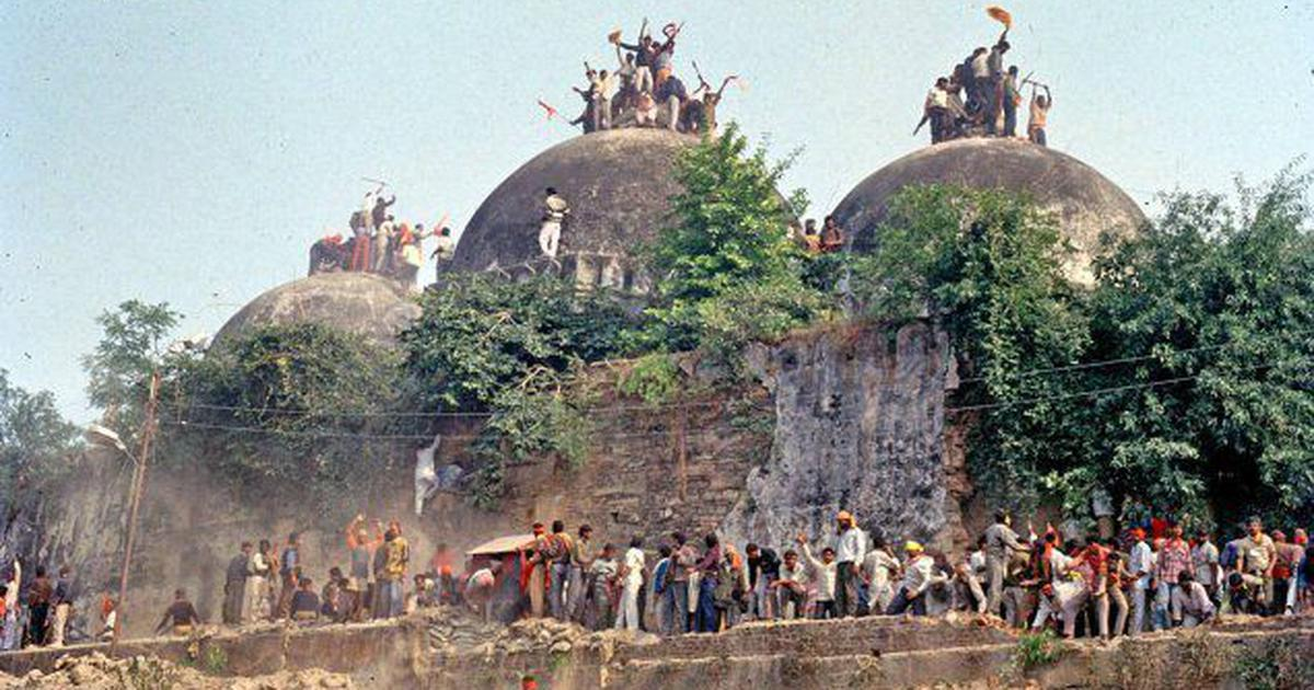 No, the Supreme Court did not uphold the claim that Babri Masjid was built by demolishing a temple