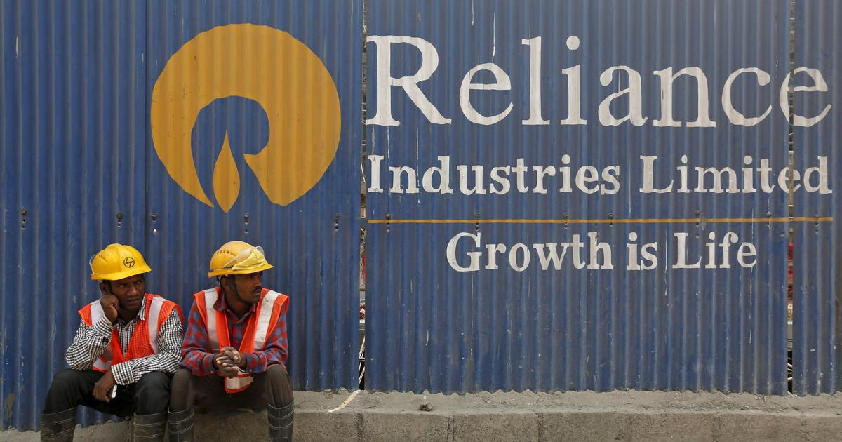 Reliance Industries becomes India's first company to hit Rs 11.44 lakh crore in market value