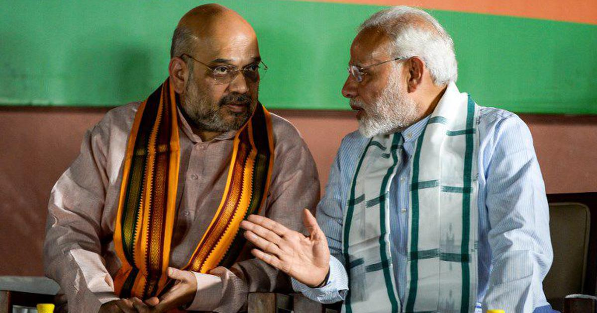 Image result for photo of modi shah
