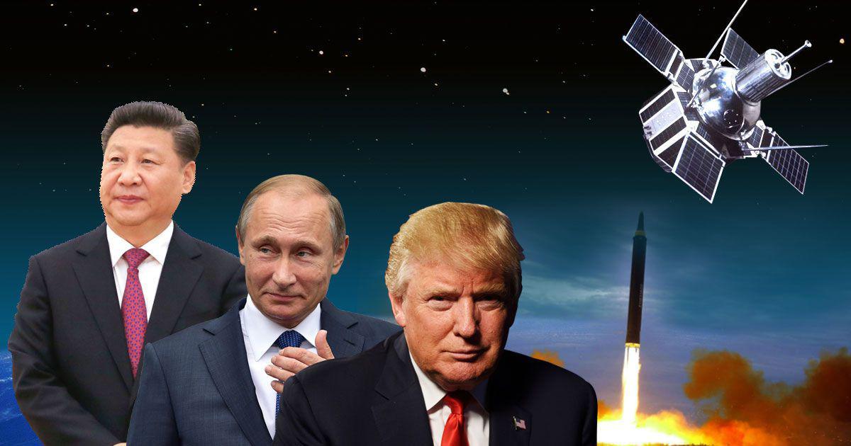 अमेरिकी 'स्पेस फोर्स' के गठन से साफ है कि अब अंतरिक्ष जंग का नया मैदान बनने वाला है