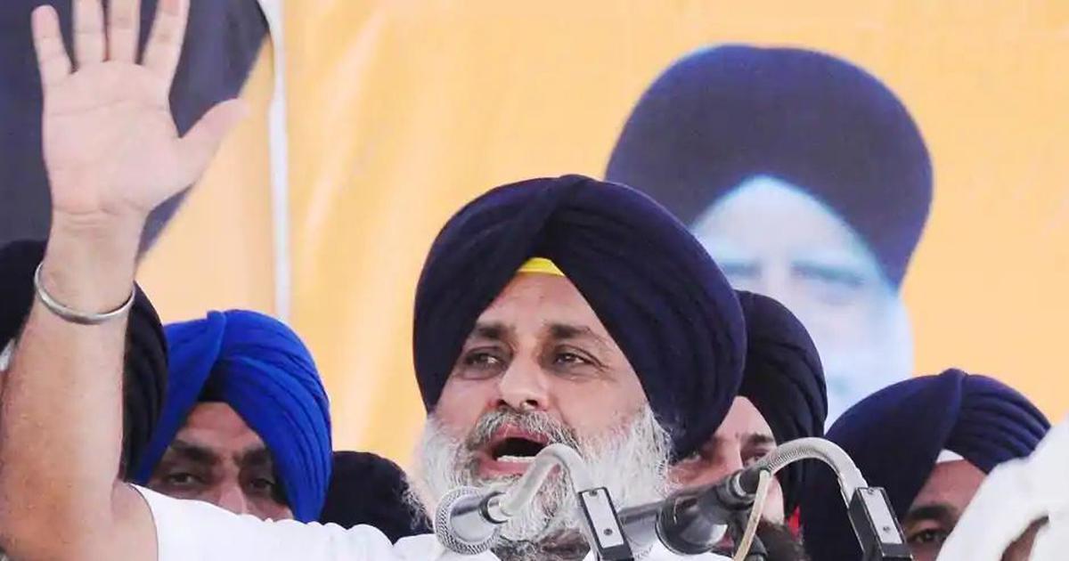 SAD will initiate a 'national pro-farmer front' against farm laws, says Sukhbir Singh Badal