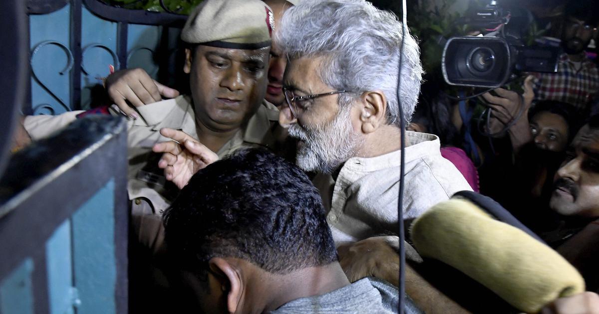 Bhima Koregaon case: SC rejects Gautam Navlakha, Anand Teltumbde's anticipatory bail petitions