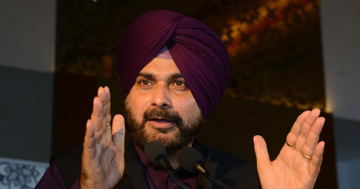 नवजोत सिंह सिद्धू ने फिर पाकिस्तान के साथ बातचीत पर जोर दिया