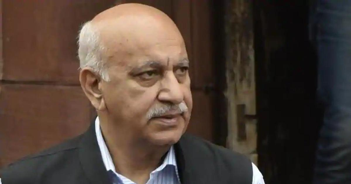 'It was consensual relation': MJ Akbar on US-based journalist's rape claims