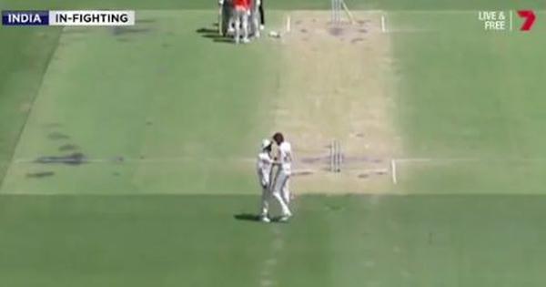ऑस्ट्रेलिया में दूसरे टेस्ट मैच के दौरान ईशांत शर्मा और रविंद्र जडेजा के बीच तीखी बहस