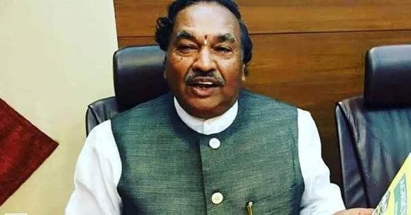 Muslims who hesitate to vote for BJP are traitors and support Pakistan, says Karnataka minister