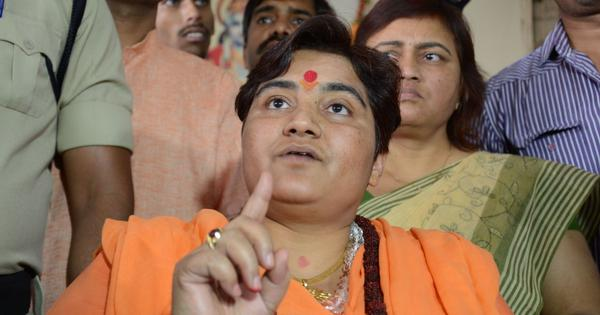 'I climbed atop Babri Masjid to raze it, extremely proud of it,' says Pragya Thakur, gets EC notice