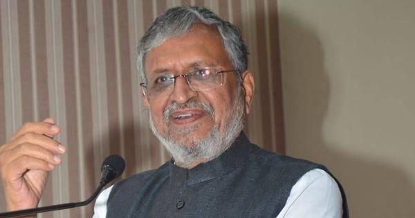 Bihar: BJP nominates former Deputy CM Sushil Modi for bye-poll to Rajya Sabha seat