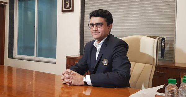 Batting under pressure was a lot more difficult than being BCCI president: Sourav Ganguly