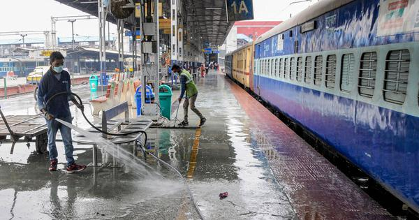 Top 10 coronavirus updates: Railways cancels over 20 special trains amid surge in cases