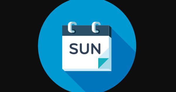 क्विज़: छुट्टी का दिन होने के अलावा आप रविवार के बारे में कितना जानते हैं?