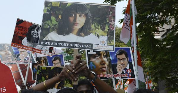 वे कौन से छह कारण हो सकते हैं जिनके चलते दिशा रवि की गिरफ्तारी हुई होगी?