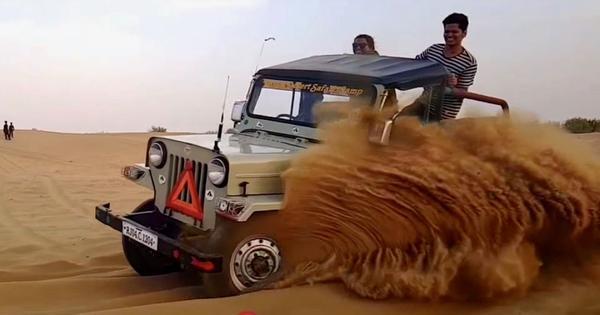 हमारे पास एक ही रेगिस्तान है, हम उसे सहेज लें या बर्बाद कर दें