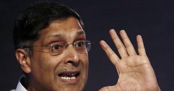 अब अरविंद सुब्रमण्यम ने मोदी सरकार के जीडीपी गणना के तरीके पर सवाल उठाए